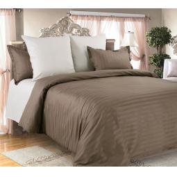 фото Комплект постельного белья Королевское Искушение «Капучино» 1710283. 1,5-спальный