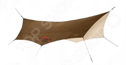 Тент Campack Tent G-1001Тенты. Шатры<br>Тент Campack Tent G-1001 незаменимый элемент во время любого отдыха за городом, похода или долгосрочной стоянки. Прочный материал со специальным покрытием PU Silver надежно защищает от воздействия солнечных лучей, дождя и ветра, создавая оптимальные условия для комфортного отдыха. Тент имеет специальные оттяжки со светоотражающими элементами, поэтому в темное время суток вы легко сможете отыскать свой привал. Стальные стойки делают конструкцию устойчивой, поэтому непогода или сильный ветер ей не страшны. В сложенном виде тент не занимает много места, а с его установкой легко справится даже неопытный пользователь.<br>