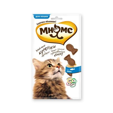 Купить Лакомство для кошек Мнямс со вкусом лосося