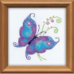 фото Набор для вышивания бисером Сотвори Сама «Чудесная бабочка»