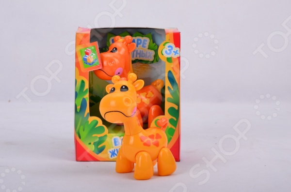 Фигурка-игрушка 1 Toy «Жираф». В ассортиментеИгрушечные животные<br>Товар продается в ассортименте. Вид товара при комплектации заказа зависит от наличия товарного ассортимента на складе. Фигурка-игрушка 1 Toy Жираф - отличный подарок для вашего малыша. Забавная фигурка животного отлично детализирована и выполнена из качественных и безопасных материалов. Фигурка подвижна. С такой игрушкой ребенок с интересом будет изучать животных, развивать мелкую моторику. Отлично подходит для сюжетно-ролевых игр, которые способствуют развитию памяти и воображения у малыша.<br>