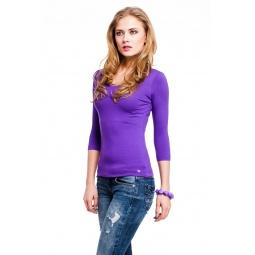 фото Кофта Mondigo 023. Цвет: фиолетовый. Размер одежды: 44