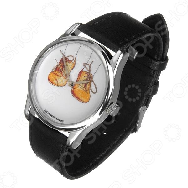 Часы наручные Mitya Veselkov «Ботики» MV визитница mitya veselkov ботики