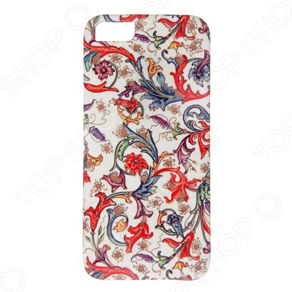 Чехол для iPhone 5 Mitya Veselkov «Райский сад» шапочка маска ферби черная uni