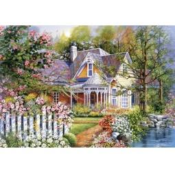 Купить Пазл 500 элементов Castorland «Дом у воды»