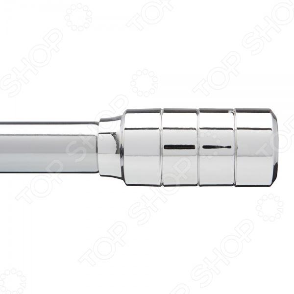Карниз телескопический Umbra MirageЗанавески. Гардины. Тюли<br>Карниз телескопический Umbra Mirage полезный предмет, который поможет закрепить занавески. Такой карниз станет отличным решением для крепления занавесок в любой комнате. Карниз имеет декоративные наконечники для украшения интерьера. Телескопическая конструкция позволит легко регулировать их по длине. Конструкция легко крепится к стене благодаря креплениям входят в комплект . Диаметр 2,54 см.<br>