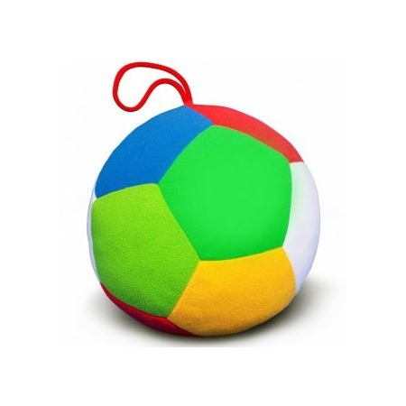Купить Мягкая игрушка развивающая Мякиши «Футбол с погремушкой»