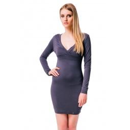 фото Платье Mondigo 8525. Цвет: темно-серый. Размер одежды: 42