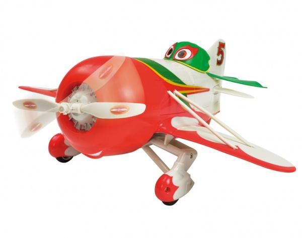 Самолет на радиоуправлении Dickie Чупакабра отличный подарок для вашего малыша. В комплект входит удобный пульт для управления самолетом. Наличие звуковых эффектов обязательно придется по вкусу вашему малышу. Игрушка может летать в различных направлениях: вперед, назад, влево, вправо, виз, вверх. Запускать самолетик можно только на большом открытом пространстве при слабом ветре. Кроме полетов игрушка умеет ездить по поверхности. Самолет работает на батарейках. Самолет на радиоуправлении Dickie Рипслингер станет любимой игрушкой вашего ребенка. Рекомендуется для детей старше 7 лет.