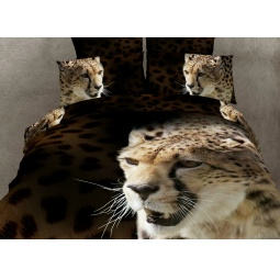 фото Комплект постельного белья Buenas Noches Gepard. Satin Fotoprint. 2-спальный