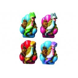 Купить Копилка Снегурочка «Змея на кресле с золотом»