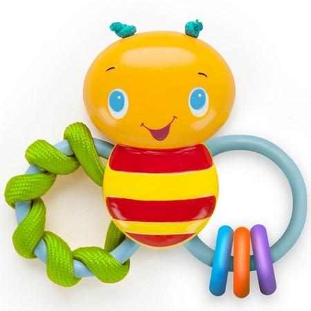 Купить Погремушка-прорезыватель Bright Starts 52025 «Пчелка»