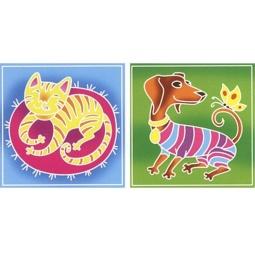 Купить Набор для росписи ткани RTO BK-001/007