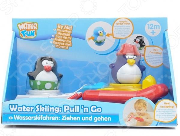 Набор для ванны Toy Target «Катание на лыжах»
