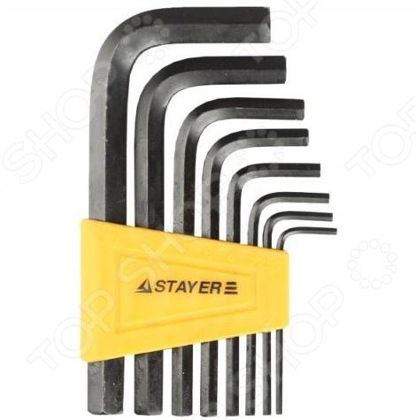 Набор ключей имбусовых Stayer Standard 27405-H8 набор ключей комбинированных stayer professional 2 271259 h19