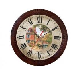 Купить Часы настенные Вега Д 3 МД/7 144 «English Village»