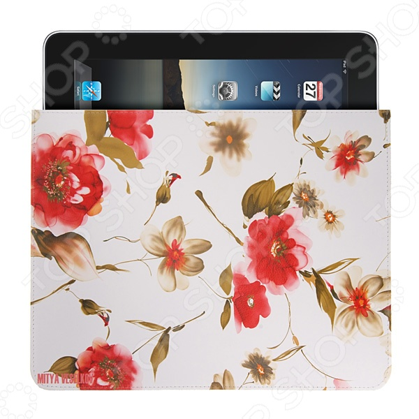 Чехол для iPad Mitya Veselkov «Акварель» чехлол для ipad iphone mitya veselkov чехол для ipad райский сад ip 08