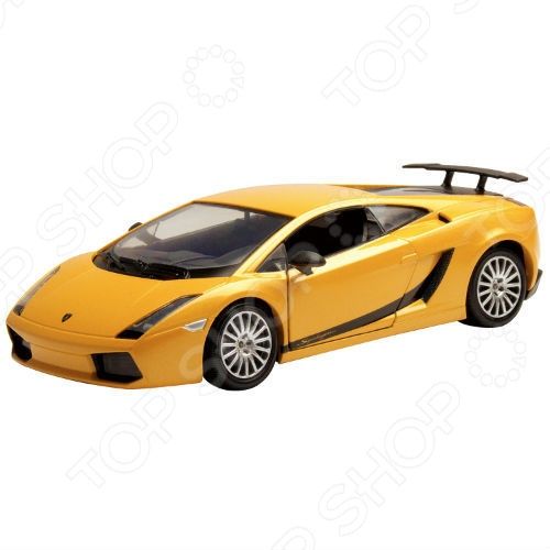 Модель автомобиля 1:24 Motormax Lamborghini Gallardo Superleggera машины motormax модель автомобиля lamborghini gallardo масштаб 1 60