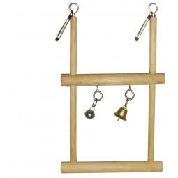 Купить Игрушка для птиц DEZZIE «Двухэтажная жердочка»