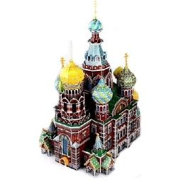 Купить Пазл 3D CubicFun «Собор Воскресения Христова»