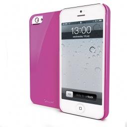 фото Чехол Muvit Glossy для iPhone 5. Цвет: розовый