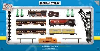 Набор железной дороги игрушечный Голубая стрела 87136