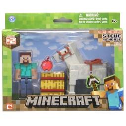 фото Набор игровой для мальчика Minecraft «Стив с лошадью»