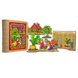 Купить Набор для кукольного театра БЭМБИ «Театр на столе. Репка»