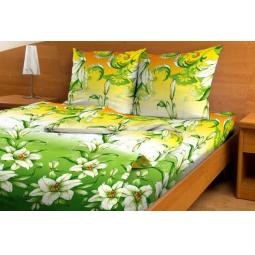 фото Комплект постельного белья с бамбуком Матекс «Лилии». Евро
