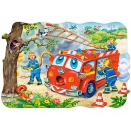 Купить Пазл 20 элементов Castorland «Пожарная машина»