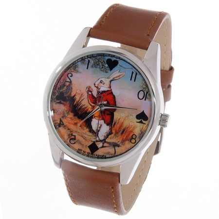 Купить Часы наручные Mitya Veselkov «Кролик Алисы»