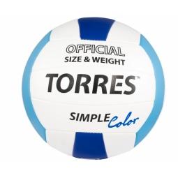фото Мяч волейбольный Torres V30115 Simple Color
