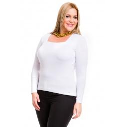 фото Кофта Mondigo XL 7014. Цвет: белый. Размер одежды: 52
