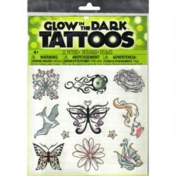 Купить Татуировки временные Savvi светящиеся. В ассортименте