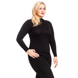 фото Водолазка Mondigo XXL 036. Цвет: черный. Размер одежды: 56