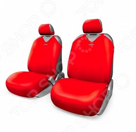Набор чехлов-маек для передних сидений Autoprofi R-402Pf R-1 Sport Plus