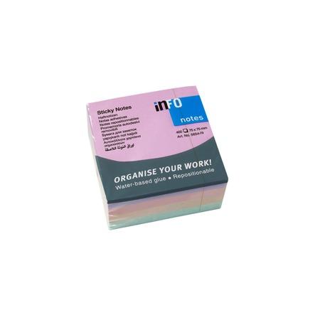 Купить Блок-кубик для записей Info Notes 5654-79