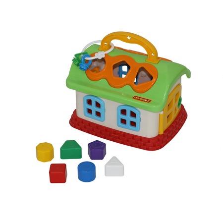 Купить Игрушка-сортер развивающая Полесье «Сказочный домик»