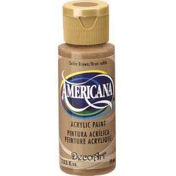 фото Краска акриловая DecoArt Премиум Americana. Цвет: коричневый соболь