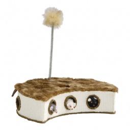 фото Коробка-когтеточка Beeztees 405150 с мышками и пером