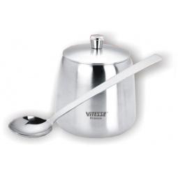 Купить Сахарница с ложкой Vitesse Itzal