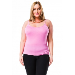 фото Майка Mondigo XL 9351. Цвет: темно-розовый. Размер одежды: 50