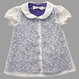 Купить Блузка детская Katie Baby Petite rose ЯВ101455. Цвет: фиолетовый