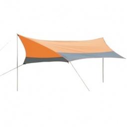 фото Тент Larsen со стойками. Цвет: оранжевый