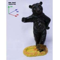 Купить Подставка для вина Drivemotion «Веселый медведь»