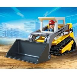 фото Конструктор игровой Playmobil «Стройка: Мини-экскаватор»