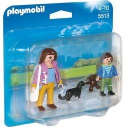 фото Конструктор игровой Playmobil «Особняки: Набор Мама и школьник»