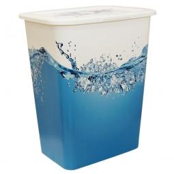 фото Корзина для белья IDEA «Деко. Вода»