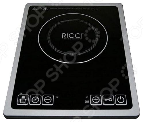 Плита настольная индукционная Ricci JDL-C21E4 настольная плита ricci jdl h 20 d 19 p розовая