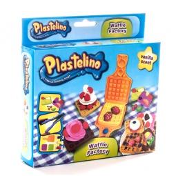 фото Набор пластилина игровой Plastelino «Вафли»